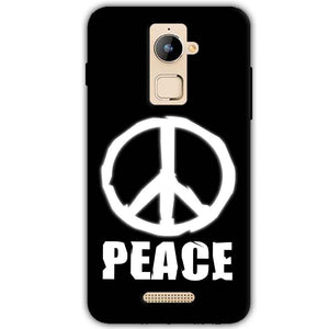 Coolpad Note 3 Plus Mobile Covers Cases Peace Sign In White - Lowest Price - Paybydaddy.com