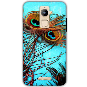 Coolpad Note 3 Plus Mobile Covers Cases Peacock blue wings - Lowest Price - Paybydaddy.com