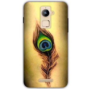 Coolpad Note 3 Plus Mobile Covers Cases Peacock coloured art - Lowest Price - Paybydaddy.com