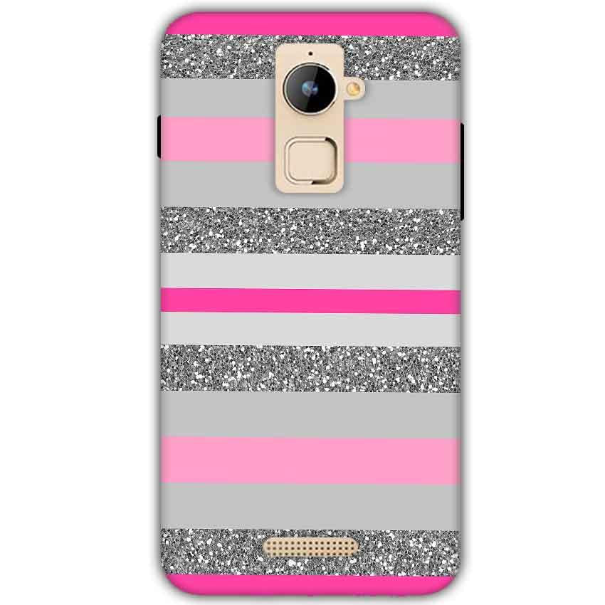 Coolpad Note 3 Plus Mobile Covers Cases Pink colour pattern - Lowest Price - Paybydaddy.com