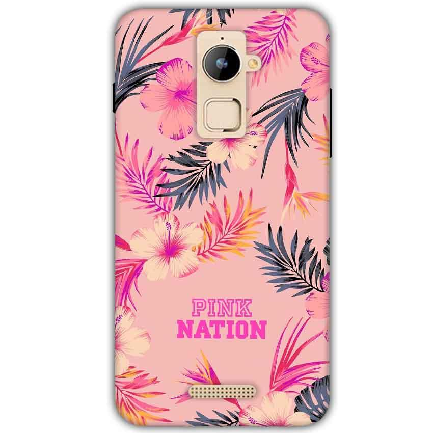 Coolpad Note 3 Plus Mobile Covers Cases Pink nation - Lowest Price - Paybydaddy.com