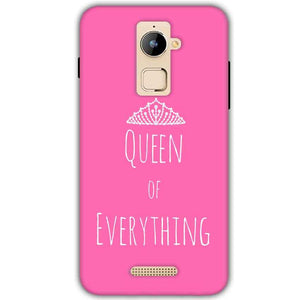 Coolpad Note 3 Plus Mobile Covers Cases Queen Of Everything Pink White - Lowest Price - Paybydaddy.com