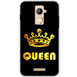 Coolpad Note 3 Plus Mobile Covers Cases Queen With Crown in gold - Lowest Price - Paybydaddy.com