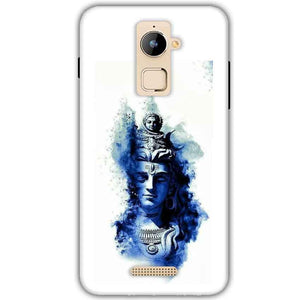 Coolpad Note 3 Plus Mobile Covers Cases Shiva Blue White - Lowest Price - Paybydaddy.com