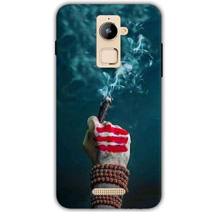 Coolpad Note 3 Plus Mobile Covers Cases Shiva Hand With Clilam - Lowest Price - Paybydaddy.com