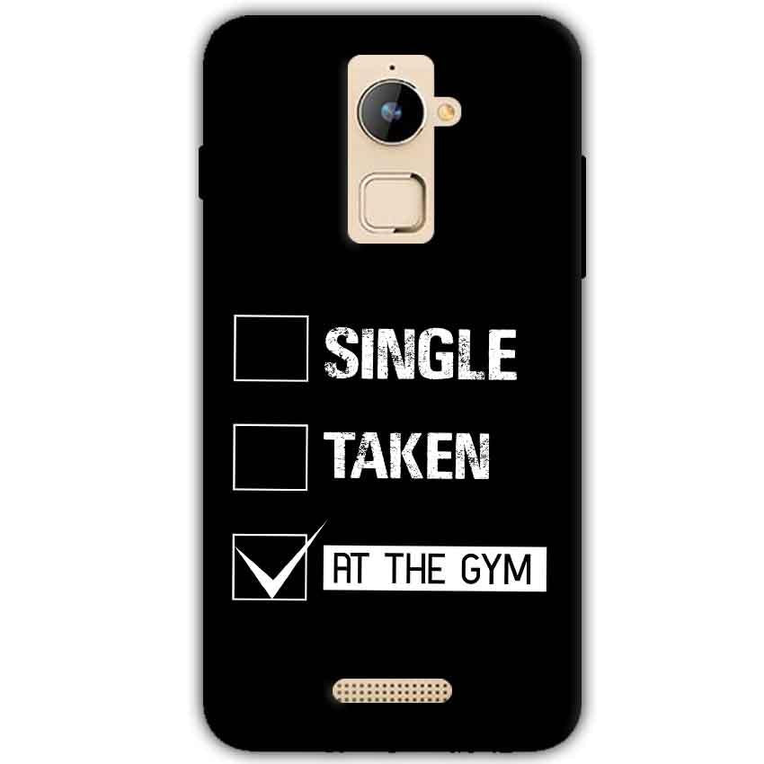 Coolpad Note 3 Plus Mobile Covers Cases Single Taken At The Gym - Lowest Price - Paybydaddy.com