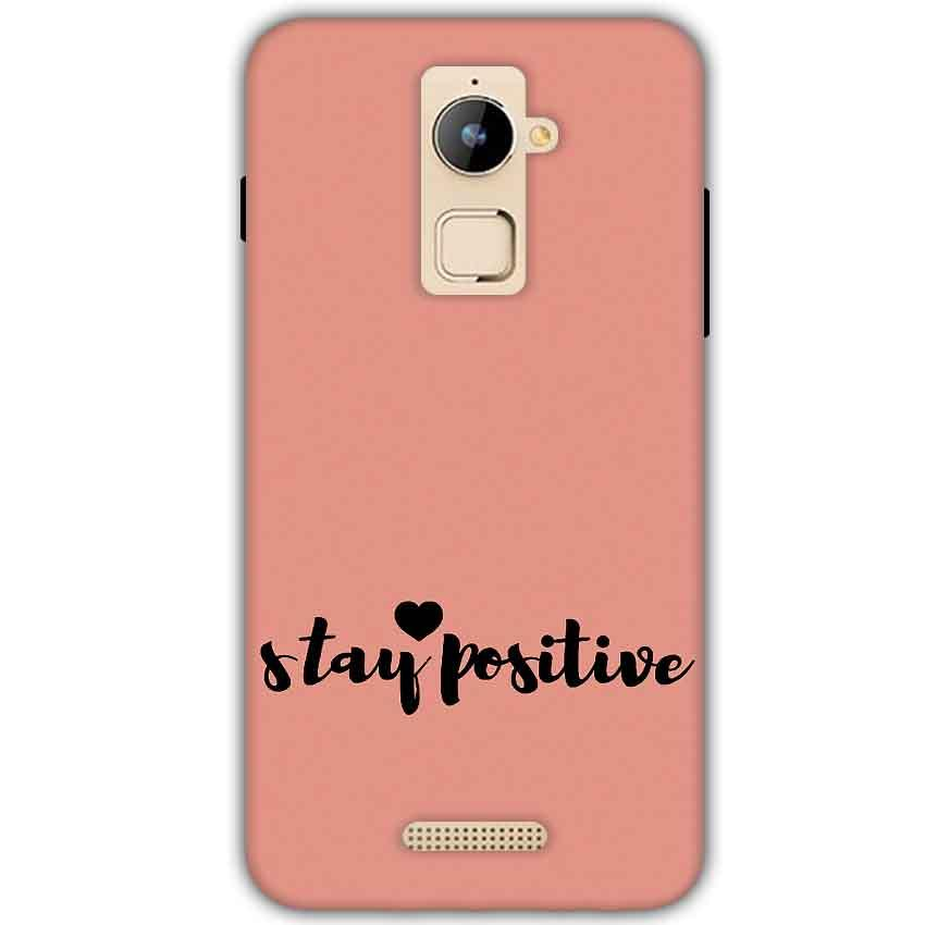 size 40 962de fb40e Coolpad Note 3 Plus Stay Positive Back Cover