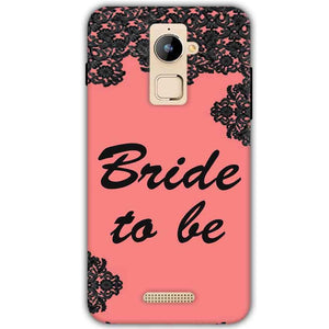 Coolpad Note 3 Plus Mobile Covers Cases Mobile Covers Cases bride to be with ring Black Pink - Lowest Price - Paybydaddy.com