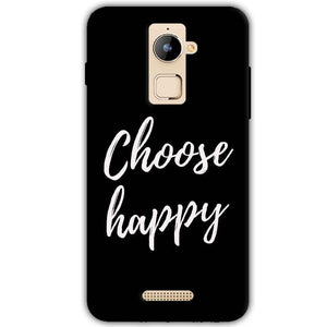 Coolpad Note 3 Plus Mobile Covers Cases Choose happy - Lowest Price - Paybydaddy.com