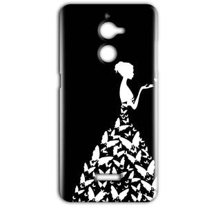 Coolpad Note 5 Lite Mobile Covers Cases Butterfly black girl - Lowest Price - Paybydaddy.com