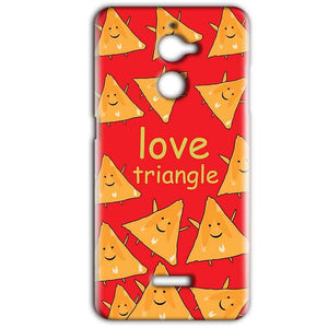 Coolpad Note 5 Lite Mobile Covers Cases Love Triangle - Lowest Price - Paybydaddy.com