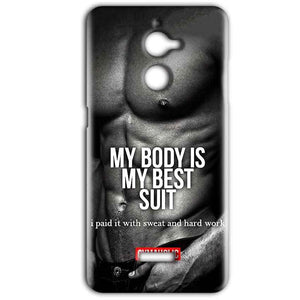 Coolpad Note 5 Lite Mobile Covers Cases My Body is my best suit - Lowest Price - Paybydaddy.com