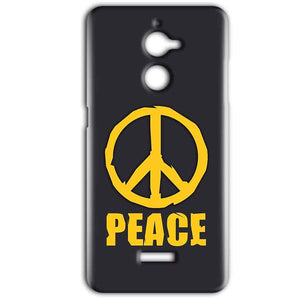 Coolpad Note 5 Lite Mobile Covers Cases Peace Blue Yellow - Lowest Price - Paybydaddy.com