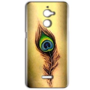Coolpad Note 5 Lite Mobile Covers Cases Peacock coloured art - Lowest Price - Paybydaddy.com