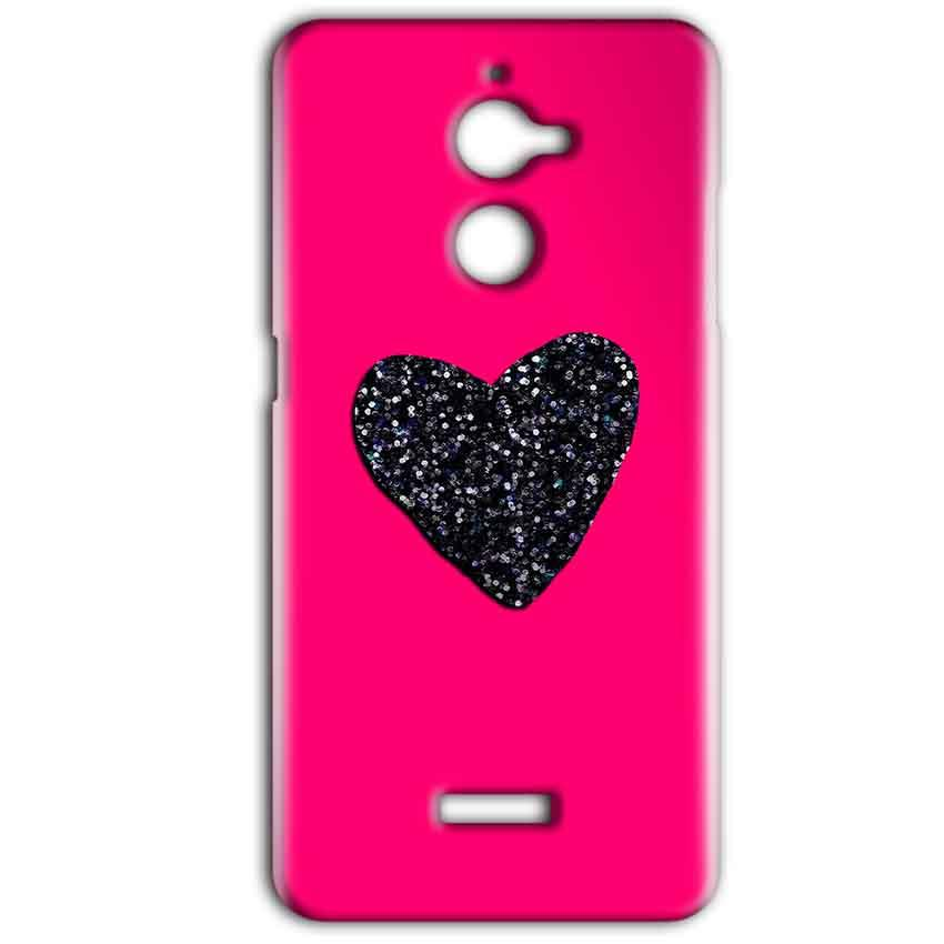 Coolpad Note 5 Lite Mobile Covers Cases Pink Glitter Heart - Lowest Price - Paybydaddy.com