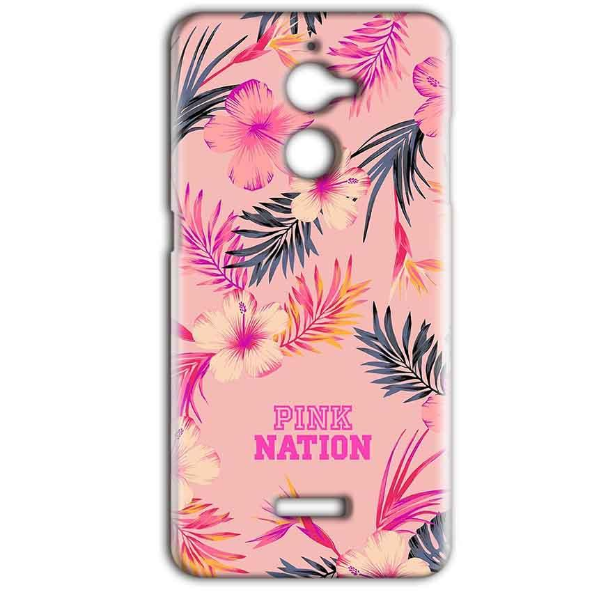 Coolpad Note 5 Lite Mobile Covers Cases Pink nation - Lowest Price - Paybydaddy.com