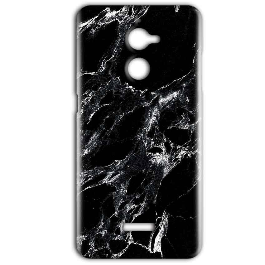 Coolpad Note 5 Lite Mobile Covers Cases Pure Black Marble Texture - Lowest Price - Paybydaddy.com