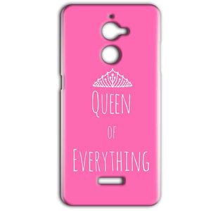Coolpad Note 5 Lite Mobile Covers Cases Queen Of Everything Pink White - Lowest Price - Paybydaddy.com