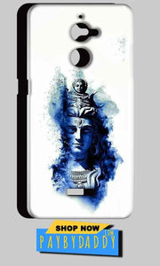 Coolpad Note 5 Lite Mobile Covers Cases Shiva Blue White - Lowest Price - Paybydaddy.com