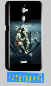 Coolpad Note 5 Lite Shiva Smoking Mobile Back Cover Case
