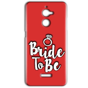 Coolpad Note 5 Lite Mobile Covers Cases bride to be with ring - Lowest Price - Paybydaddy.com