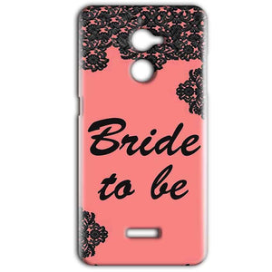Coolpad Note 5 Lite Mobile Covers Cases Mobile Covers Cases bride to be with ring Black Pink - Lowest Price - Paybydaddy.com