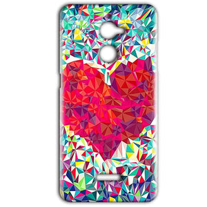 Coolpad Note 5 Lite Mobile Covers Cases heart Prisma design - Lowest Price - Paybydaddy.com