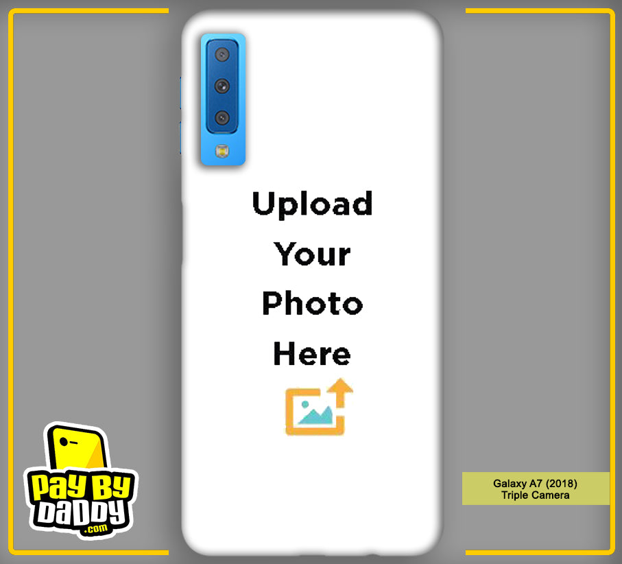 Customized Samsung Galaxy A7 (2018) Triple Camera Mobile Phone Covers & Back Covers with your Text & Photo
