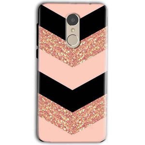 Gionee A1 Mobile Covers Cases Black down arrow Pattern - Lowest Price - Paybydaddy.com