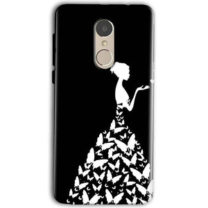 Gionee A1 Mobile Covers Cases Butterfly black girl - Lowest Price - Paybydaddy.com