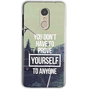 Gionee A1 Mobile Covers Cases Donot Prove yourself - Lowest Price - Paybydaddy.com