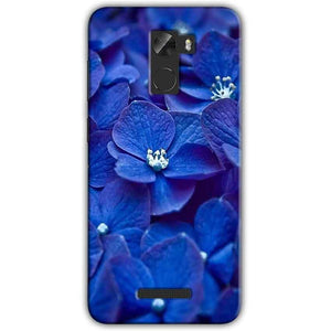 Gionee A1 Lite Mobile Covers Cases Blue flower - Lowest Price - Paybydaddy.com
