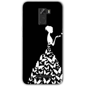 Gionee A1 Lite Mobile Covers Cases Butterfly black girl - Lowest Price - Paybydaddy.com