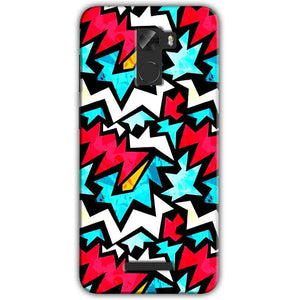 Gionee A1 Lite Mobile Covers Cases Colored Design Pattern - Lowest Price - Paybydaddy.com