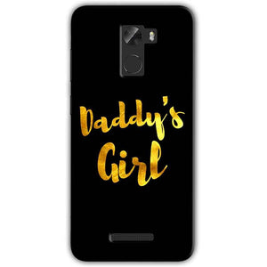 Gionee A1 Lite Mobile Covers Cases Daddys girl - Lowest Price - Paybydaddy.com
