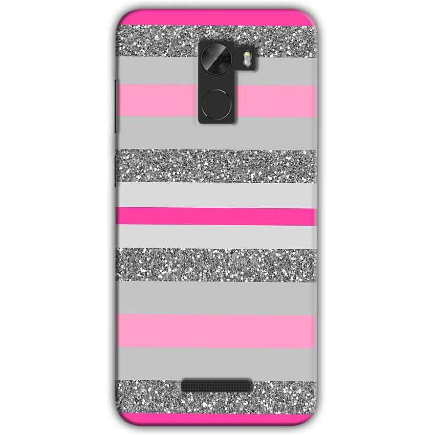 Gionee A1 Lite Mobile Covers Cases Pink colour pattern - Lowest Price - Paybydaddy.com