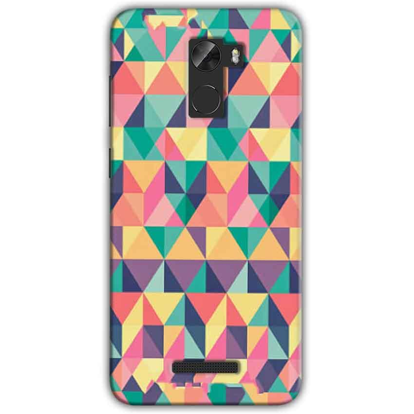 Gionee A1 Lite Mobile Covers Cases Prisma coloured design - Lowest Price - Paybydaddy.com