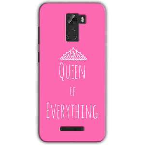 Gionee A1 Lite Mobile Covers Cases Queen Of Everything Pink White - Lowest Price - Paybydaddy.com