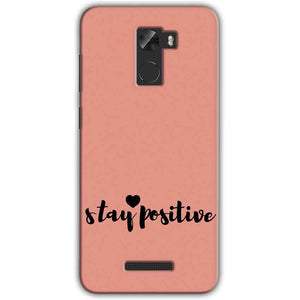 Gionee A1 Lite Mobile Covers Cases Stay Positive - Lowest Price - Paybydaddy.com