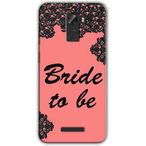 Gionee A1 Lite Mobile Covers Cases Mobile Covers Cases bride to be with ring Black Pink - Lowest Price - Paybydaddy.com