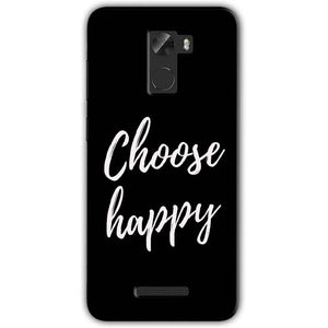 Gionee A1 Lite Mobile Covers Cases Choose happy - Lowest Price - Paybydaddy.com