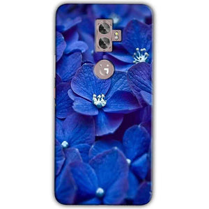 Gionee A1 Plus Mobile Covers Cases Blue flower - Lowest Price - Paybydaddy.com