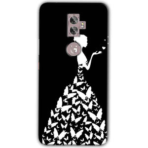 Gionee A1 Plus Mobile Covers Cases Butterfly black girl - Lowest Price - Paybydaddy.com