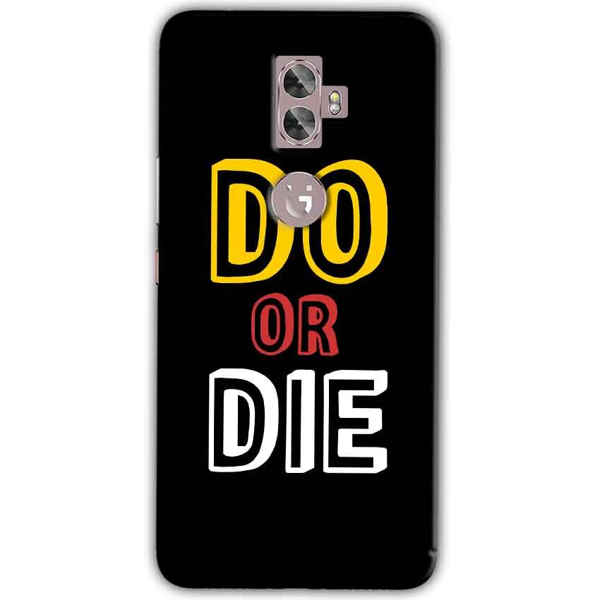 Gionee A1 Plus Mobile Covers Cases DO OR DIE - Lowest Price - Paybydaddy.com