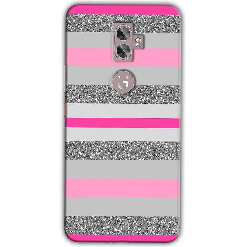 Gionee A1 Plus Mobile Covers Cases Pink colour pattern - Lowest Price - Paybydaddy.com