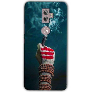 Gionee A1 Plus Mobile Covers Cases Shiva Hand With Clilam - Lowest Price - Paybydaddy.com