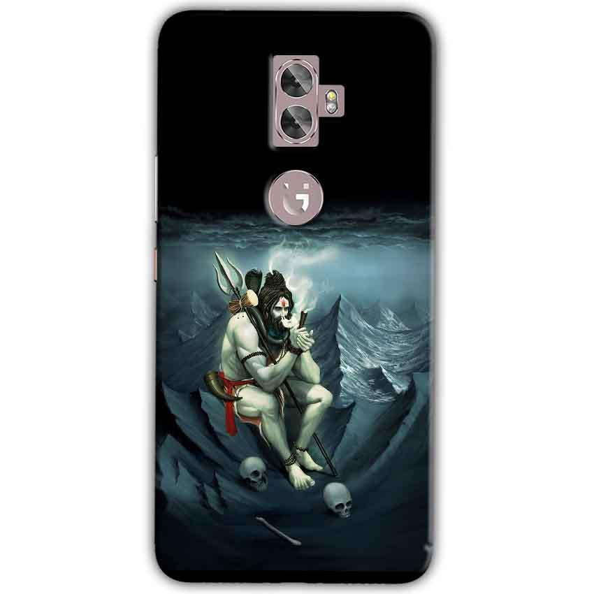 Gionee A1 Plus Mobile Covers Cases Shiva Smoking - Lowest Price - Paybydaddy.com