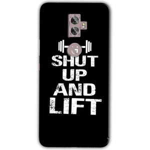 Gionee A1 Plus Mobile Covers Cases Shut Up And Lift - Lowest Price - Paybydaddy.com