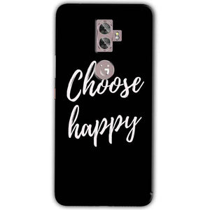 Gionee A1 Plus Mobile Covers Cases Choose happy - Lowest Price - Paybydaddy.com