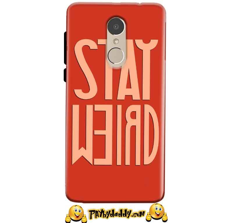 Gionee A1 Mobile Covers Cases Stay Weird - Lowest Price - Paybydaddy.com